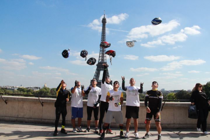 Cycling for charity: London to Paris » My Dreams Mag