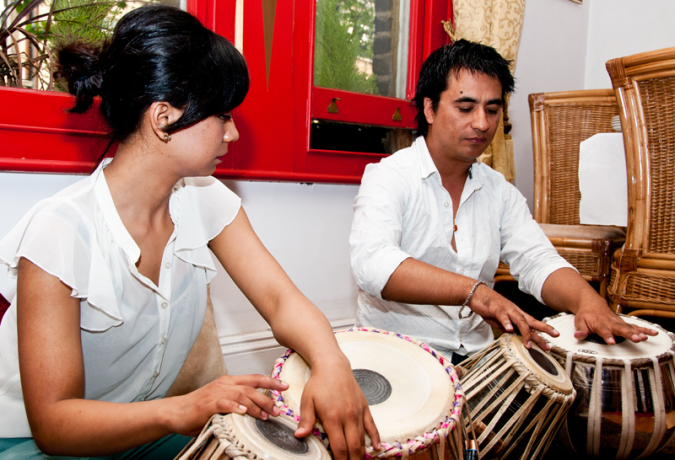 Rendezvous with rising tabla players » My Dreams Mag