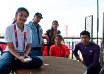 Playing it cool with the Nepalese athletes » DREAMS Magazine
