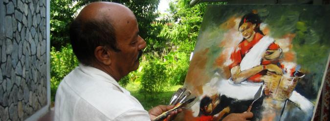 Bhurtel: An Artist in Oblivion » My Dreams Mag