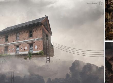 Chaos and Beauty: Kathmandu in Digital Rendition »DREAMS Magazine