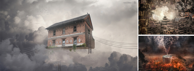 Chaos and Beauty: Kathmandu in Digital Rendition » My Dreams Mag