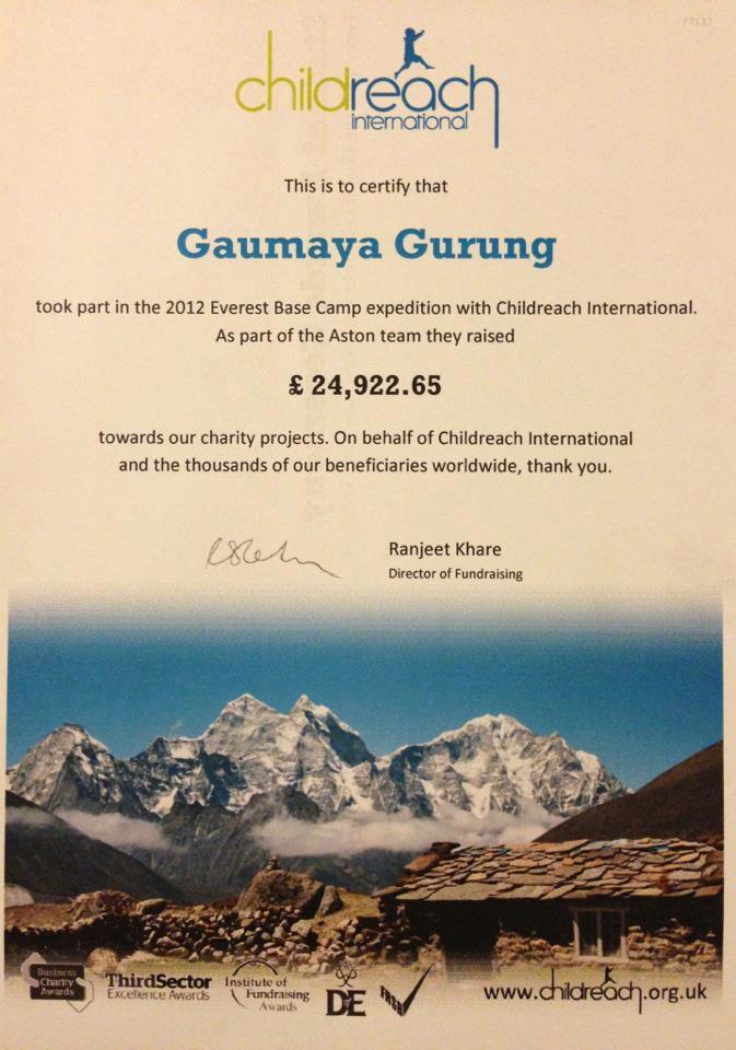 Gaumaya Gurung