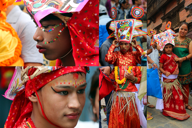 Gai Jatra: Collage