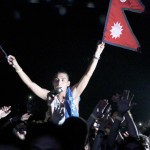 Nepali Flag, Wembley Arena