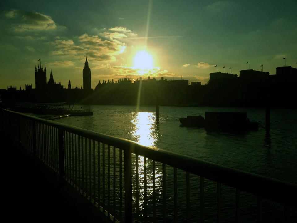 Sunset at the Houses of Parliament
