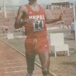 First SAFF Game 1984 .. First Position at marathon!