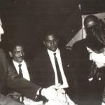 King of Gwalior felicitating Bimala Shrestha - 1968