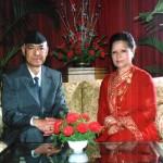 With husband Mr. Yuvraj Singh Chhetri