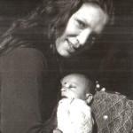 First child. First Month. 1981