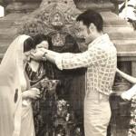 Wedding - 1975 (2032.1.10 B.S) at Manjushree Temple, Swoyambhu