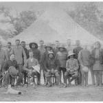 Prince Albert with Maharajah Bir Shumsher in Hunting Camp